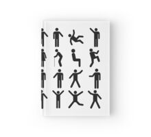 People Pattern Hardcover Journal
