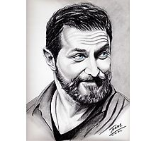 Richard Armitage, shining Photographic Print