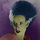 Bride of Frankenstein Culture Cloth Zinc Collection by CultureCloth