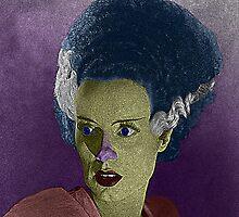 Bride of Frankenstein Culture Cloth Zinc Collection by CultureCloth