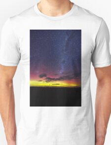 Aurora Australis the Southern lights Unisex T-Shirt
