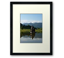 """Church Spire""  Ranten, Austria Framed Print"