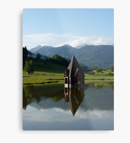 """Church Spire""  Ranten, Austria Metal Print"