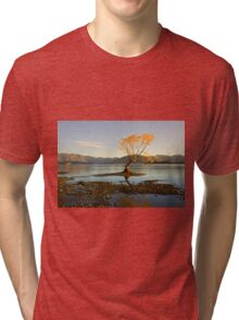 Morning glory Tri-blend T-Shirt