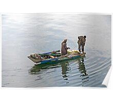 Nile Fishing Poster