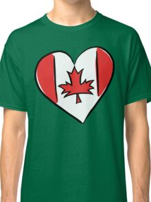 Love Canada T-Shirt Classic T-Shirt