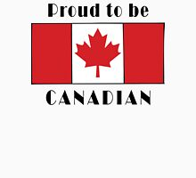 Canada Proud To Be Canadian T-Shirt Unisex T-Shirt