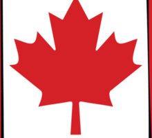 Canada Proud To Be Canadian T-Shirt Sticker