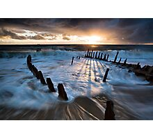 Shipwrecked Photographic Print