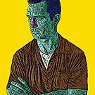 Jack Kerouac Culture Cloth Zinc Collection by CultureCloth
