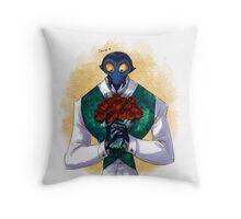 Francoeur & Flowers Throw Pillow