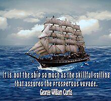 Sailing Ship by tapiona