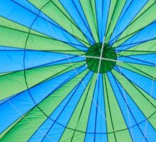 Inside the Hot Air Balloon Sticker
