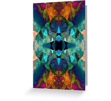 Inkblot Imagination Greeting Card
