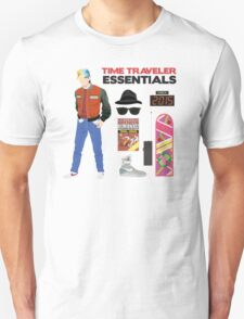 Back to the Future : Time Traveler Essentials 2015 T-Shirt