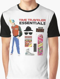 Back to the Future : Time Traveler Essentials 2015 Graphic T-Shirt