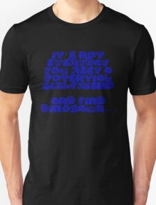 Connor Temple Quote Tee T-Shirt