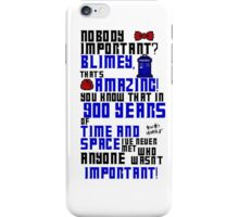 900 Years of Time and Space iPhone Case/Skin