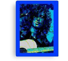THOSE DEVIL BLUES Canvas Print