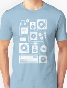 Four To The Floor - Teal Unisex T-Shirt