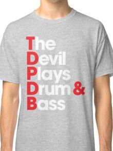 The Devil Plays Drum & Bass Classic T-Shirt