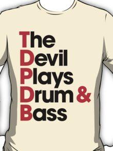 The Devil Plays Drum & Bass (black) T-Shirt