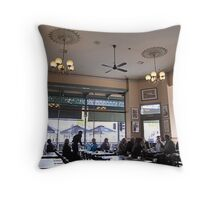 Drink with Lunch (Shamrock Hotel, Bendigo) Vic. Throw Pillow