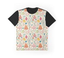 Plant Pattern Color 3 Graphic T-Shirt
