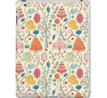 Plant Pattern Color 3 iPad Case/Skin
