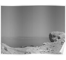 Rock and Dead Sea Poster
