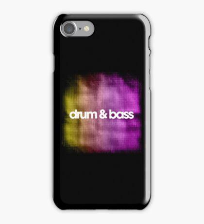 Drum & Bass (color harmonies)  iPhone Case/Skin