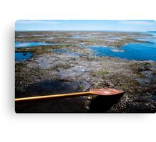 Beyond the Paddle Canvas Print