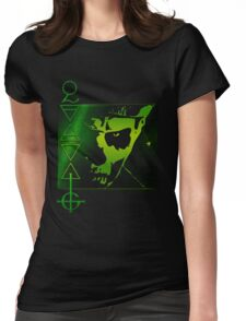 PAPA THE LIZARD KING Womens Fitted T-Shirt