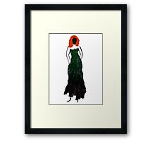 Irish lass  Framed Print