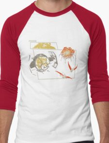 Tie Rex and the Rebeldactyls Men's Baseball ¾ T-Shirt