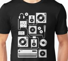 Four To The Floor — Electric Blue Unisex T-Shirt