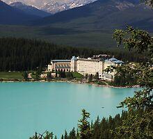 Fairmont Chateau Lake Louise by Charles Kosina