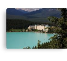 Fairmont Chateau Lake Louise Canvas Print