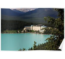 Fairmont Chateau Lake Louise Poster