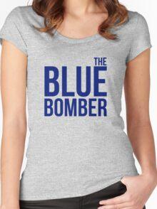 Mega Man aka The Blue Bomber Women's Fitted Scoop T-Shirt