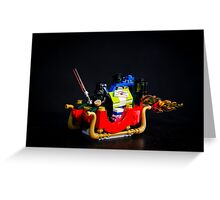 Christmas Hot Rod Greeting Card