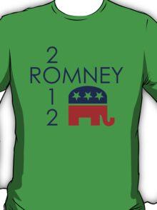 Romney 2012 Republican Elephant T-Shirt