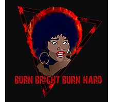 The Last Afro - Burn Bright Burn Hard Photographic Print