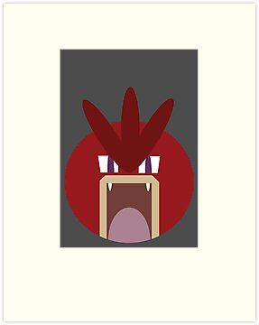 Red Gyarados Ball by Rjcham