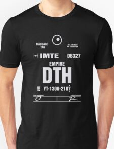 Docking Bay 327 DTH Luggage Tag Unisex T-Shirt