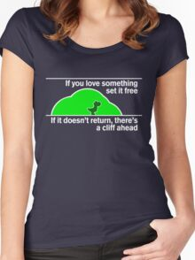 Yoshi's Law Women's Fitted Scoop T-Shirt