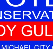 Cody Gulick for City Council Sticker