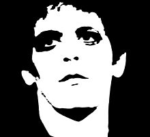 Lou Reed Transformer Shirt by RatRock