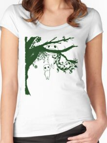 Kodoma Tree Spirit Women's Fitted Scoop T-Shirt
