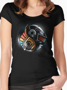 Daft Yin-Yang Women's Fitted Scoop T-Shirt